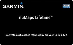 Karta nüMaps Lifetime